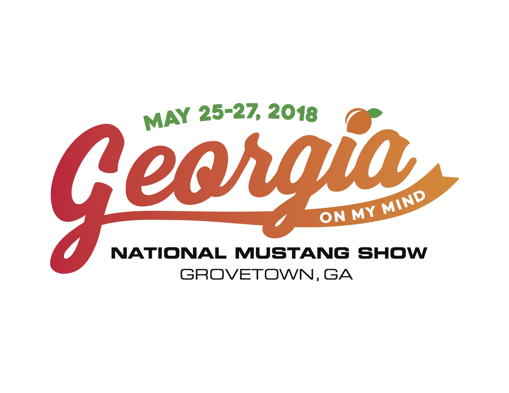 Georgia On My Mind – MCA National Mustang Show, 5/25/18 – 5/27/18